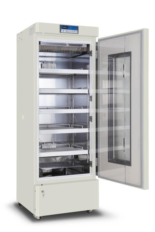Холодильник для збереження компонентів крові на 268 л. (+ 4 ± 1°С) вертикальний