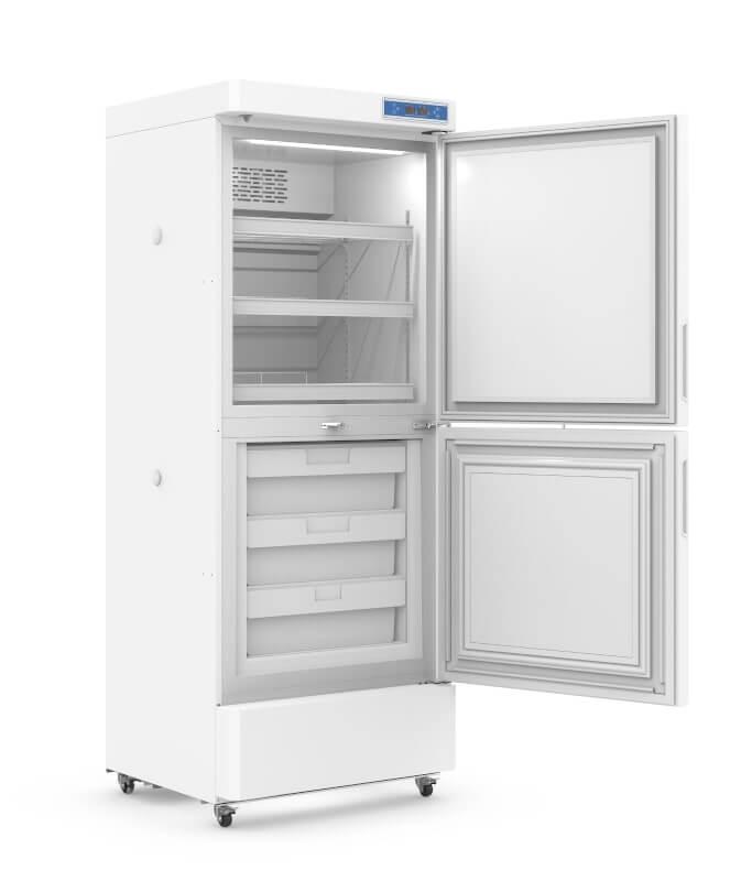 Комбінований холодильник з морозильною камерою на 253 л. (Т +2…+8°С/ -10…-40°С) вертикальний